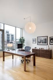 modern office credenza. Modern Office Credenza Home Contemporary With Eames Aluminum Group Chair Metal Arc Floor Lamps