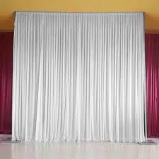 large wedding party backdrop curtain ds background decor studio d diy