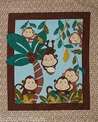 7 best nursery panels available on ebay on buttons-n-things images ... & Fabric, MONKEY IN COCONUT TREE, Nursery Panel, Baby, Quilt Top, Cotton Adamdwight.com