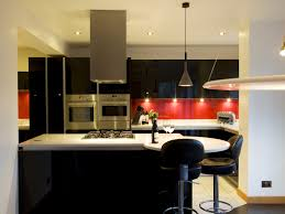 Black And Red Kitchen Red And Black Kitchen Images House Decor
