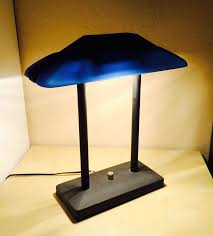 tensor b206 bankers desk lamp nice blue shade commercial dimmer