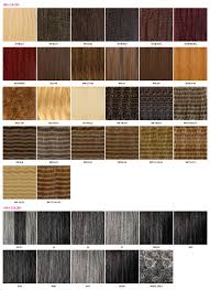 Janet Collection Color Chart Color Chart