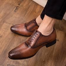 Image result for brown leather shoes men