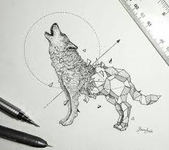 Pin By ирина рахматулина On тату эскиз волка татуировки с волком