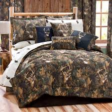 scenic image browning camouflage bedding deer comforter set military camo bedding sets queen bed decoration in