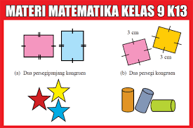 Maybe you would like to learn more about one of these? Materi Matematika Kelas 9 Kurikulum 2013 Semester 1 2 Lengkap