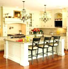 kitchen island chandelier contemporary island
