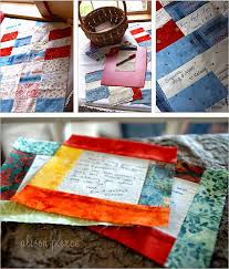 76 best Wedding Quilts images on Pinterest | Quilt block patterns ... & 20 Creative Guest Book Ideas For Wedding Reception - Number 16 a quilt  guestbook. Adamdwight.com