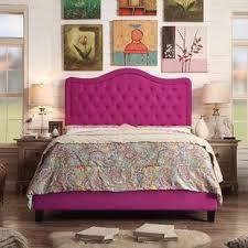 Cream Tufted Bed Wayfair