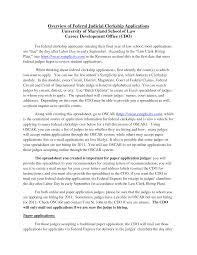 Lerkship Cover Letter Printable Federal Template For Clerkship