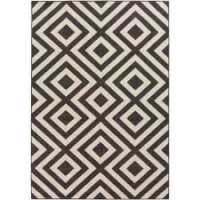 breckenridge beige 6 ft x 9 ft indoor outdoor area rug