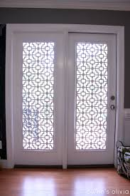 Front Door Window Coverings Decorating French Door Curtains For Cute Interior Home Decorating