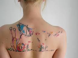 Tattoo Fox Ve Stylu Akvarelu Tetování Ve Stylu Akvarel