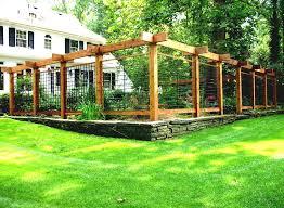 vegetable garden fence ideas wood