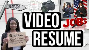 Video Resumes Video Resume Hire Me Funny Earledreka White YouTube 1
