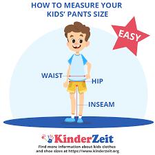 Kids Pants Size Chart Boys Girls Pants Easy Size Guide