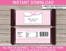 hershey candy bar wrapper ballerina hershey candy bar wrappers personalized candy bars
