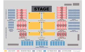 Casino Ballroom Seating Chart Bob Saget