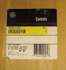 4 pole contactor electrical test equipment general electric ge contactor 208 220 240v 3 pole 75 amp cr353egy4b