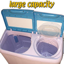 Mini Washing Machines Twin Tub Washing Machine Caravan 65kg Compact Top Loader Portable