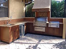 Outdoor Kitchen Cabinet Doors Captivating Decor Outdoor Kitchen Ts Diy  Throughout Build Outdoor Kitchen Cabinets How