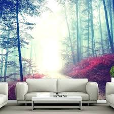 tree mural wallpaper forest wallpaper mural tree wallpaper living room magical red road wall mural misty forest tree photo forest wallpaper mural