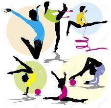 Resultado de imagen de gimnasia ritmica dibujos en color