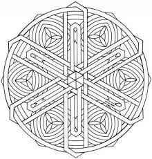 Small Picture Celtic Knot Mandala coloring page Free Printable Coloring Pages