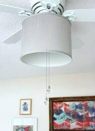 fancy drum shade ceiling fan light kit drum ceiling fan add a drum shade to your ceiling fan it only takes 5 minutes with this drum shade ceiling fan light
