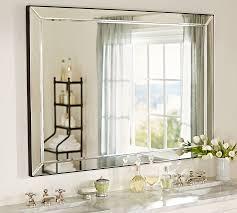bathroom mirrows. beveled-strip-mirror bathroom mirrows