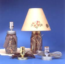 LAMP MAKING KITS with Medium Edison Style Sockets. Most Kits are PRE-WIRED  & Ready to Install in your Project.