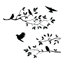 bird stencil for wall birds branch tree stencil wall wood sign crafts pinned by cool birds bird stencil for wall
