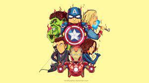 Little Avengers 4k Art thor wallpapers ...