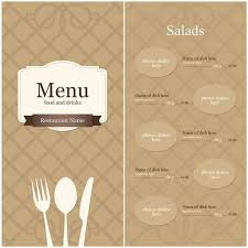 blank menu template free download blank menu template free download world of printables
