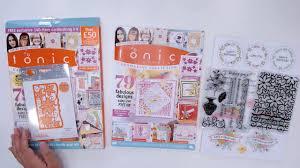 Tonic Studios Design Collection Magazine Tonic Studios Box 5 Kit Unboxing
