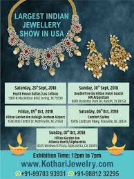 local services ping largest indian jewellery show in usa nriwala