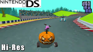 cartoon network racing nintendo ds gameplay high resolution desmume