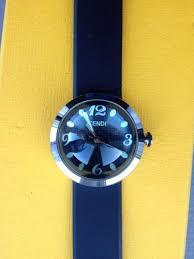17 best images about fendi logos fendi and two tones fendi bussola orlogi men s black rubber strap watch designerjewelrygalleria com