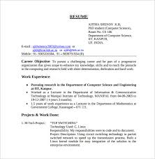 55 Luxury Computer Science Resume Template – Template Free
