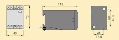 xj11 xj3 d phase failure relay failure relay naidian group co wiring diagram failure relay dimension failure relay