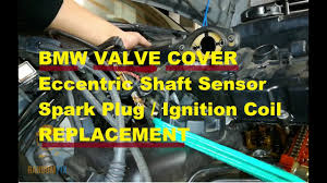 ▷️BMW 6 Cylinder VALVE COVER Replacement ▷️Eccentric Shaft ...