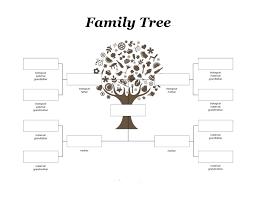 free family pedigree maker template family tree maker pedigree chart template free family