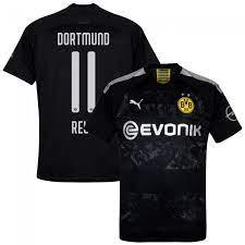 Puma boys' borussia dortmund official training jersey. Puma Borussia Dortmund Away Reus 11 Jersey 2019 2020