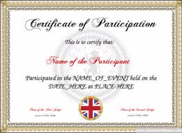 parenting certificate templates free certificate templates for kids sport and community groups you