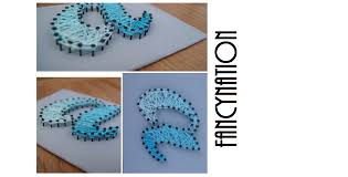 Diy String Art Diy Tangle Embroidery Floss Picture String Art