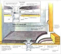 diy shower pan installation tile shower base tile shower pan shower concrete shower base build concrete