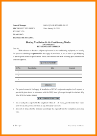 Job Quotation Letter New Sample Quotation Letter Fresh Sample ...