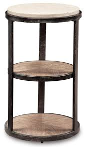 pedestal accent table