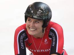 Olympic cyclist Olivia Podmore, who ...