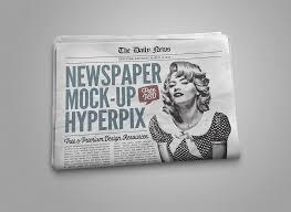1800 Newspaper Template Newspaper Mockupworld